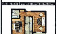 Apartament|Garsoniera de vanzare - Rosu, Ilfov